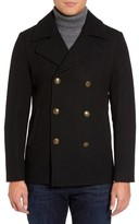 Slate & Stone Men's Wool Blend Peacoat