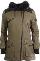 Bellfield Makushino Hooded Biker Style Parka Jacket -