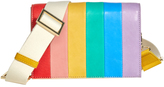 Alice + Olivia Rainbow Leather Clee Crossbody