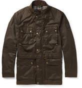 Belstaff Roadmaster Waxed-cotton Jacket - Green