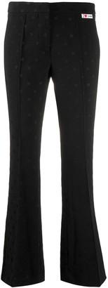 Giamba flared tailored trousers