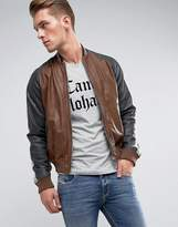 Diesel L-Truly Leather Jacket