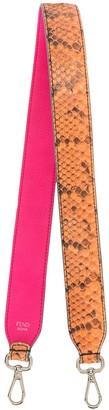 Fendi Pre-Owned Snakeskin Print Bag Strap