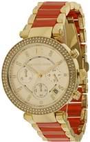 Michael Kors Parker MK6139 Women's Wrist Watches, Gold Dial