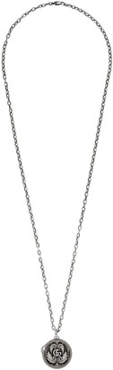 Gucci Silver necklace with Double G pendant