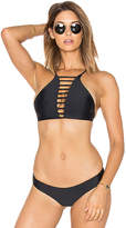Bettinis Strappy Halter Top in Black. - size S (also in XS)