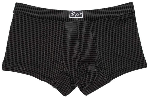 Ermenegildo Zegna Black Tonal Stripe Boxer Briefs