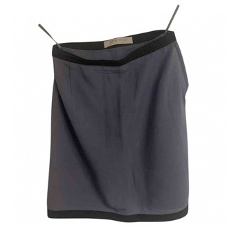 Miu Miu Purple Wool Skirt for Women Vintage
