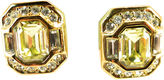 One Kings Lane Vintage Dior Canary Crystal Earrings