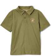 Beverly Hills Polo Club Loden Green Jersey Polo - Toddler & Boys