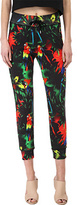 Love Moschino Tropical Print Casual Pant Women's Casual Pants