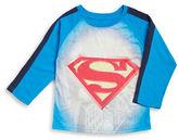 Nannette Boys 2-7 Mock-Layered Long-Sleeve Superman Graphic T-Shirt