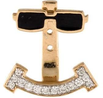 Alison Lou Diamond Cool Joe Earring Jacket
