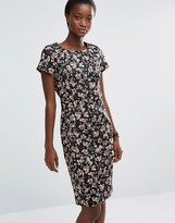 French Connection Anastasia Wizard Capped Sleeve Dress