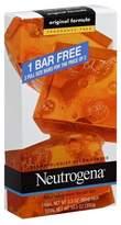 Neutrogena Facial Cleansing Bar Fragrance Free- 3 Pk
