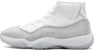 Jordan Womens Air 11 Retro 'METALLIC SILVER' Shoes - 9W