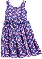 Armani Junior Girls' Floral Tank Dress - Little Kid