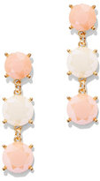 New York & Co. Triple Faux-Stone Drop Earring