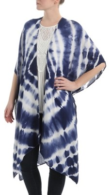Crown Vintage Tie-Dye Kimono