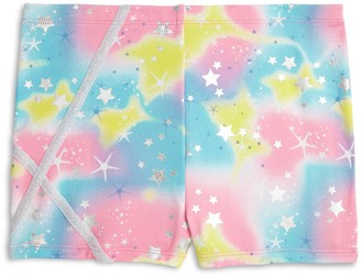 Jacques Moret Girls 4-16 Twinkle Stars Printed Shorts