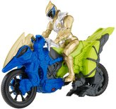 "Power Rangers Dino Super Charge - Dino Cycle with 5"" Gold Ranger"