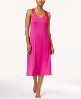Thalia Sodi Lace-Trimmed Keyhole-Back Knit Nightgown, Only at Macy's