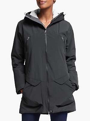 Haglöfs Torsång Women's Waterproof Parka Jacket, True Black