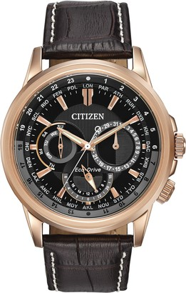 Citizen Men's Eco-Drive Stainless Steel Watch with Day/Date BU2023-04E