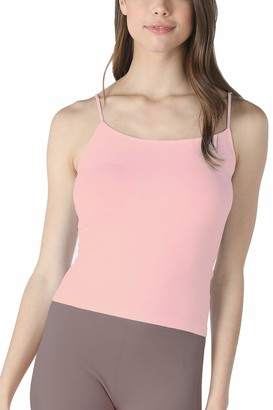 NIKIBIKI Women Seamless Classic Short Camisole Crop Top Made in U.S.A One Size - Pink - One Size