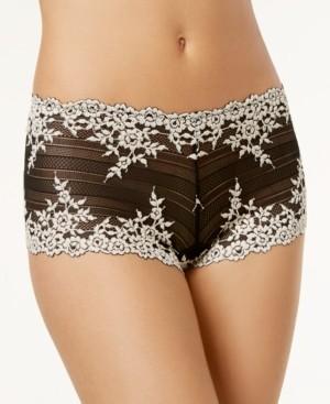 Wacoal Embrace Lace Embroidered Boyshort Underwear 67491