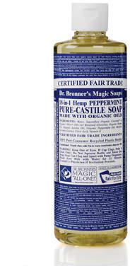 Dr. Bronner's Organic Peppermint Castile Liquid Soap 472ml
