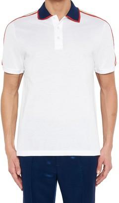Gucci Logo Band Polo Shirt