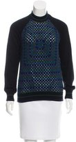 Christopher Kane Crocheted Cashmere Sweater