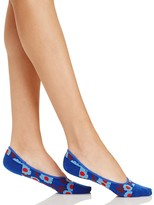 Kate Spade Tangier Floral Liner Socks