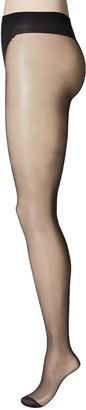 Dim Women's Sublim Vientreplano Panty Transparente 15d Hold-Up Stockings Black (Negro 127) Medium (size: 3)