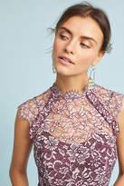 Shoshanna Lace Maxi Dress