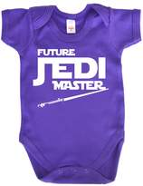 Dirty Fingers, Future Jedi Master, Baby Boy, Bodysuit, 0-3m, Navy