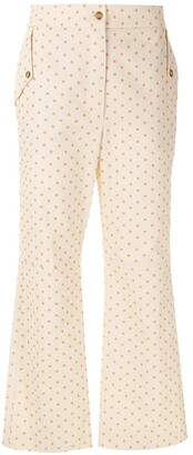 Nk Embroidered Straight Trousers