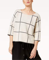 Eileen Fisher Wool Blend Boat-Neck Sweater, Regular and Petite