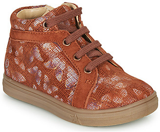 GBB OMBLINE girls's Shoes (High-top Trainers) in Red