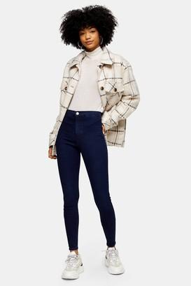 Topshop Womens Tall Indigo Holding Power Joni Jeans - Indigo