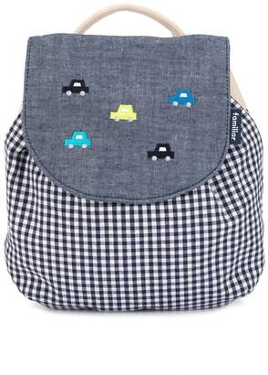 Familiar Gingham Check Backpack