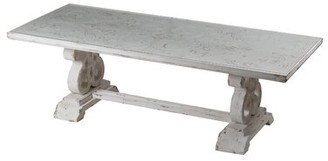Ophelia & Co. Bissett French Country Table - Distressed White & Co.