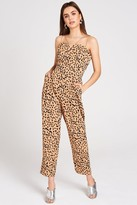 Girls On Film Florence Dalmatian-Print Jumpsuit