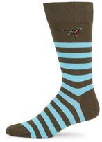 Barbour Macrath Striped Socks