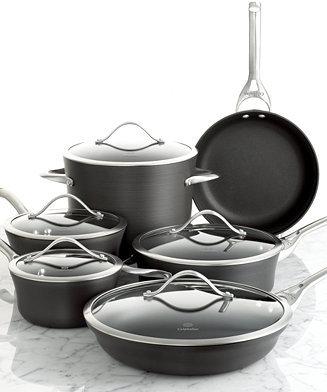 Calphalon Contemporary Nonstick Cookware, 11 Piece Set
