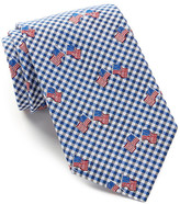 Alara Silk Freedom Flag & Checks Tie