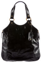 Saint Laurent Patent Leather Tribute Tote