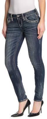 Rock Revival Gavyn Mid Rise Skinny Jeans