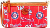 Dooney & Bourke MLB Nationals Large Slim Wristlet